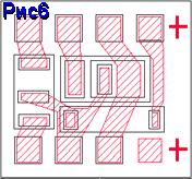 Топологія інтегральної мікросхеми
