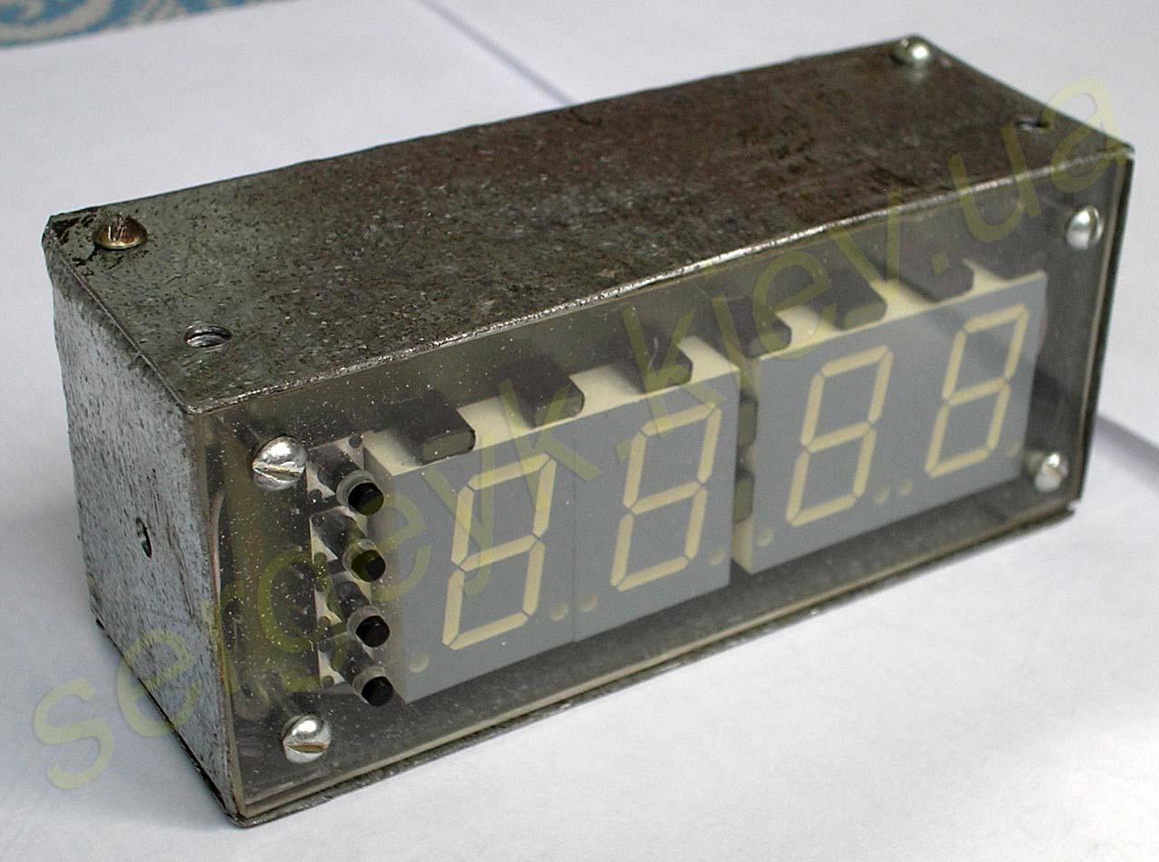 Часы на микроконтроллере с будильником