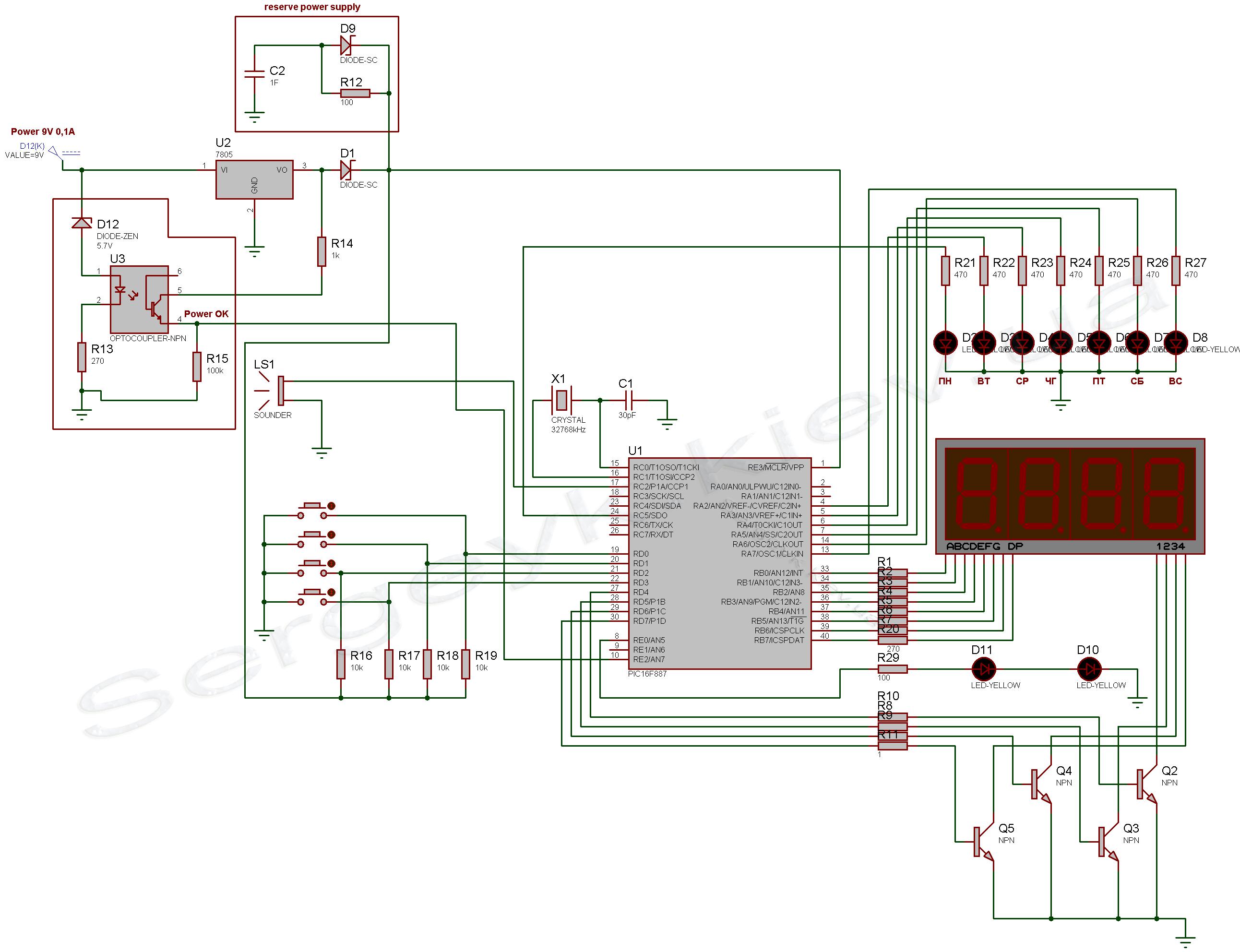 Как работает схема на микроконтроллере 92